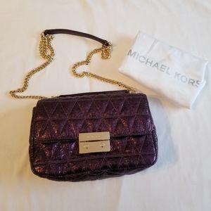 Michael kors Sloan shoulder bag quilted leather